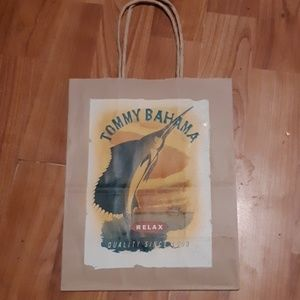 Tommy Bahama Paper shopping bag